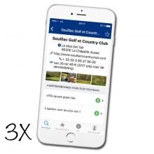 3x App Golf O Max