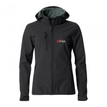 Xperon Softshell 'hoodie' jack - dames