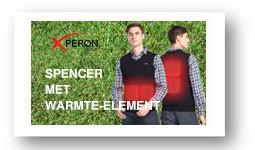 Spencer met warmte elementen