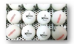 Speciale witte golfballen (Xperon snow-white)